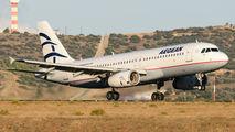 SX-DVX - Aegean Airlines Airbus A320 aircraft
