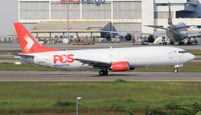 9M-POS - POS Malaysia Boeing 737-400SF