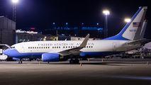 USAF Boeing C-40 Clipper visited Helsinki title=