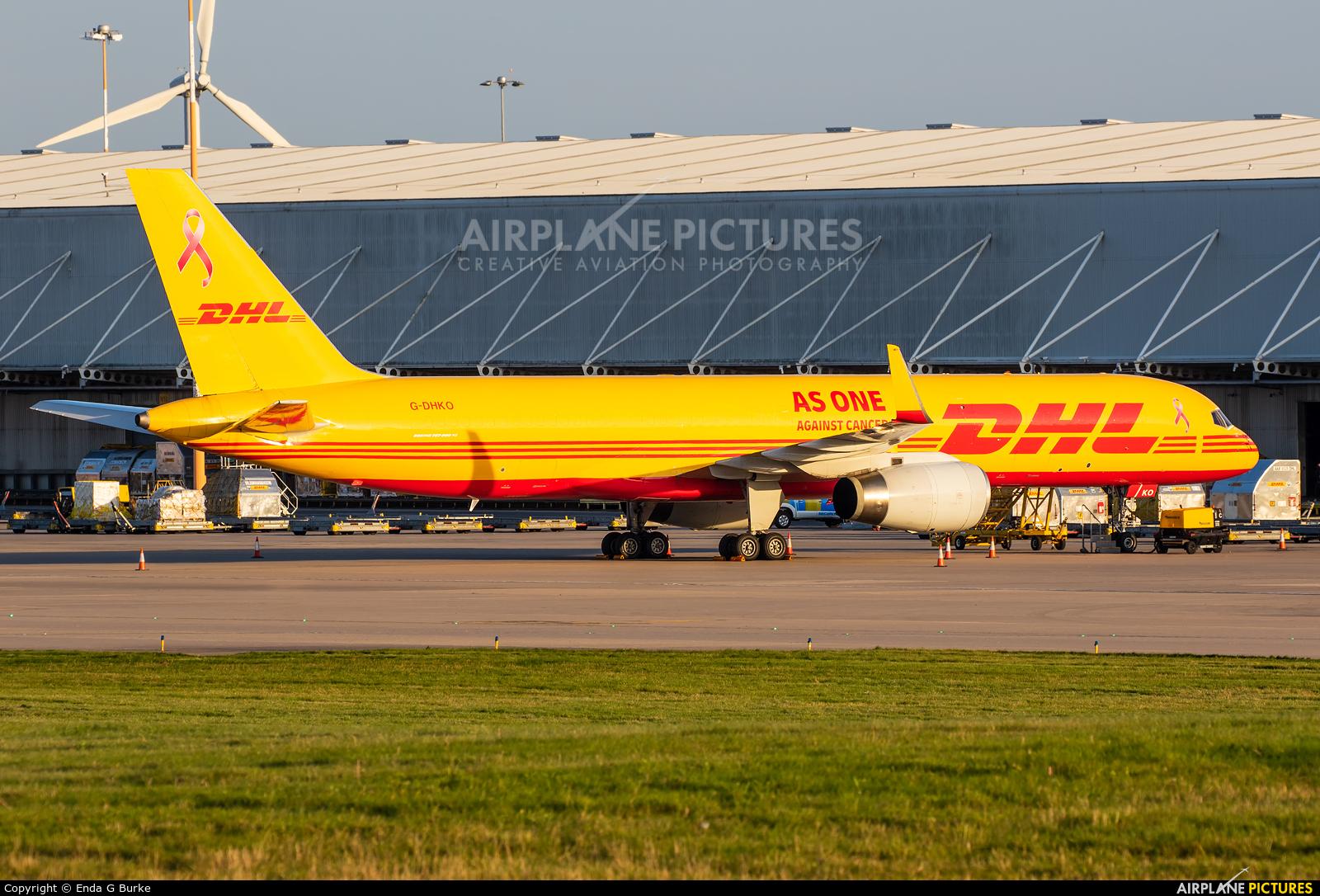 DHL Cargo G-DHKO aircraft at East Midlands