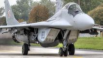 83 - Poland - Air Force Mikoyan-Gurevich MiG-29 aircraft