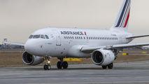 F-GUGN - Air France Airbus A318 aircraft