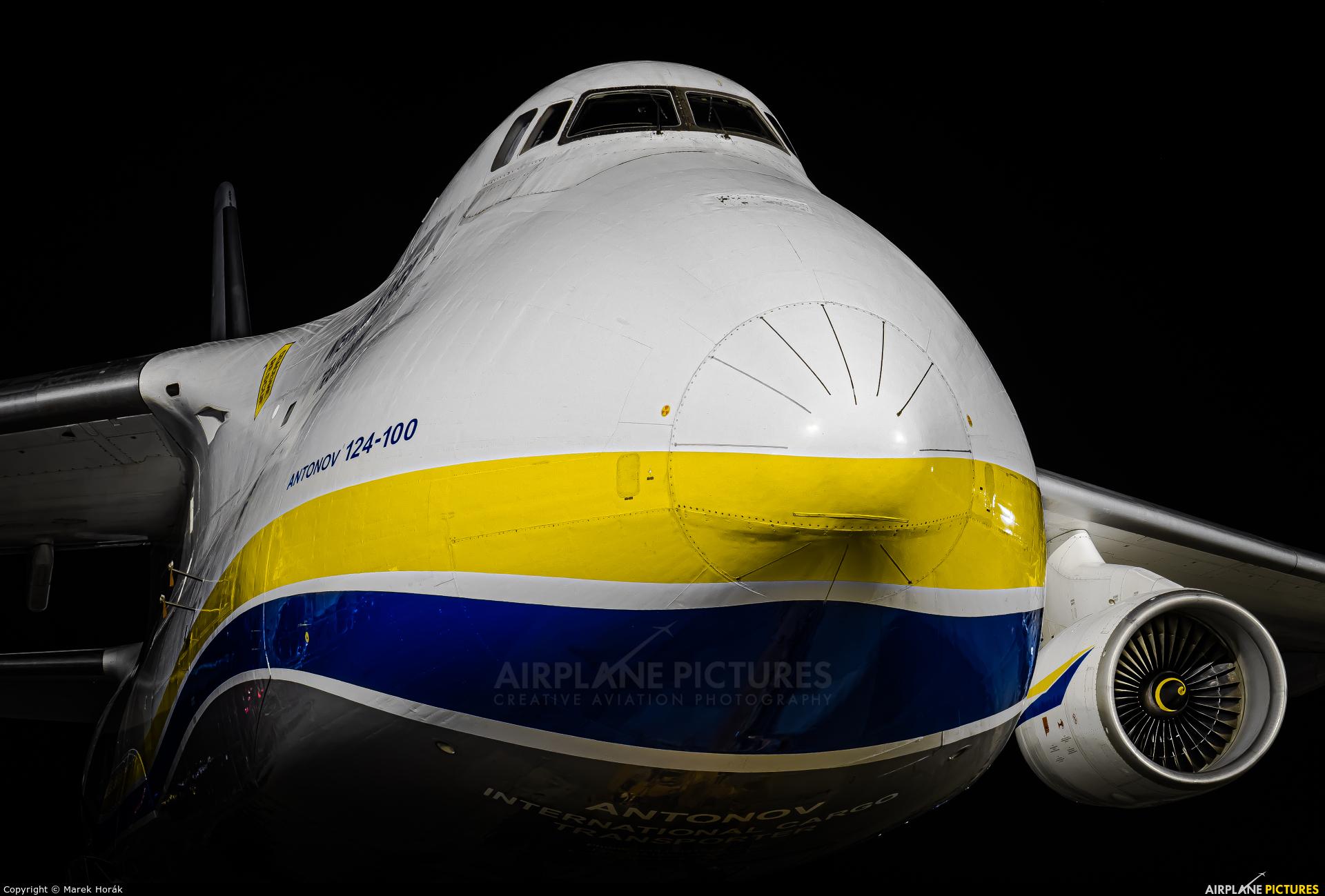 Antonov Airlines /  Design Bureau UR-82073 aircraft at Prague - Václav Havel