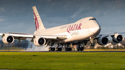 A7-BGA - Qatar Airways Cargo Boeing 747-8F