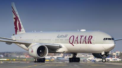 A7-BED - Qatar Airways Boeing 777-300ER