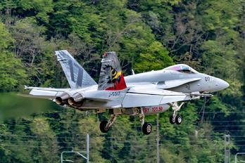 J-5017 - Switzerland - Air Force McDonnell Douglas F/A-18C Hornet