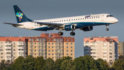 SP-LNN - LOT - Polish Airlines Embraer ERJ-190 (190-100)