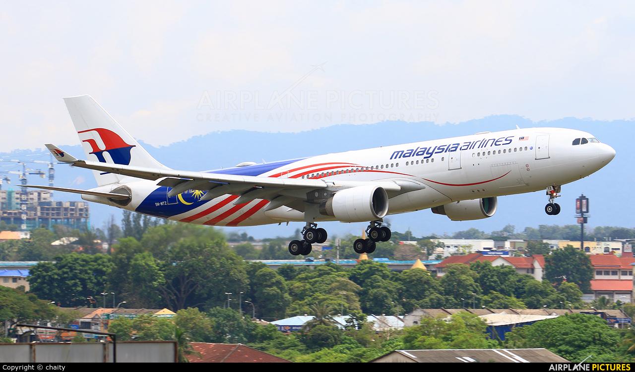 Malaysia Airlines 9M-MTZ aircraft at Subang - Sultan Abdul Aziz Shah