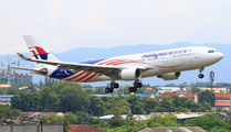 9M-MTZ - Malaysia Airlines Airbus A330-200 aircraft