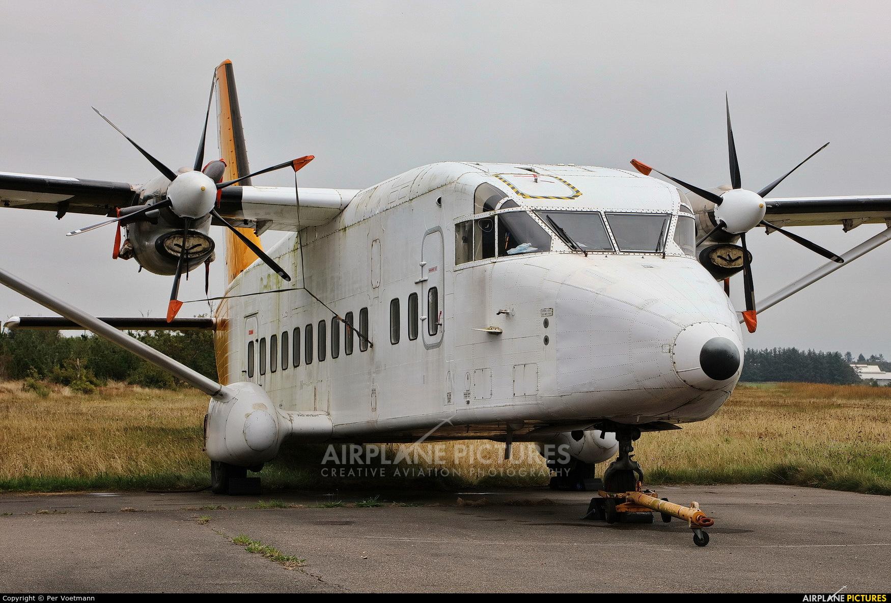 Benair OY-PBV aircraft at Stauning