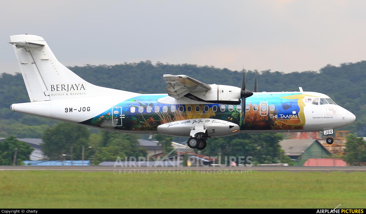 Berjaya Air 9M-JOG aircraft at Subang - Sultan Abdul Aziz Shah