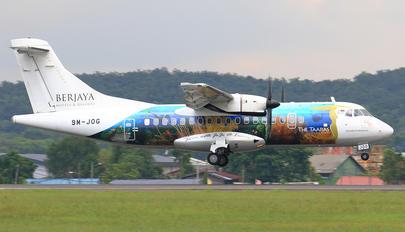 9M-JOG - Berjaya Air ATR 42 (all models)