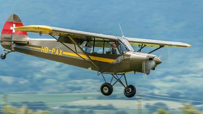 HB-PAX - Private Piper PA-18 Super Cub