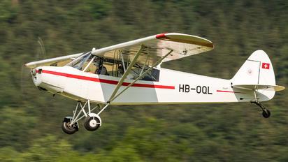 HB-OQL - Private Piper PA-18 Super Cub