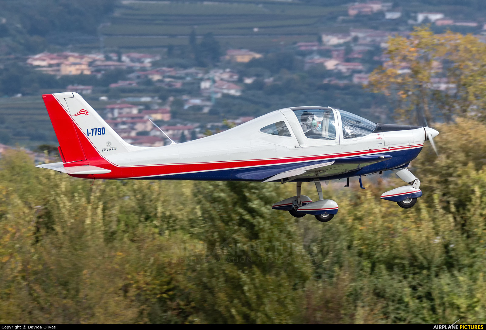 Private I-7790 aircraft at Verona - Boscomantico