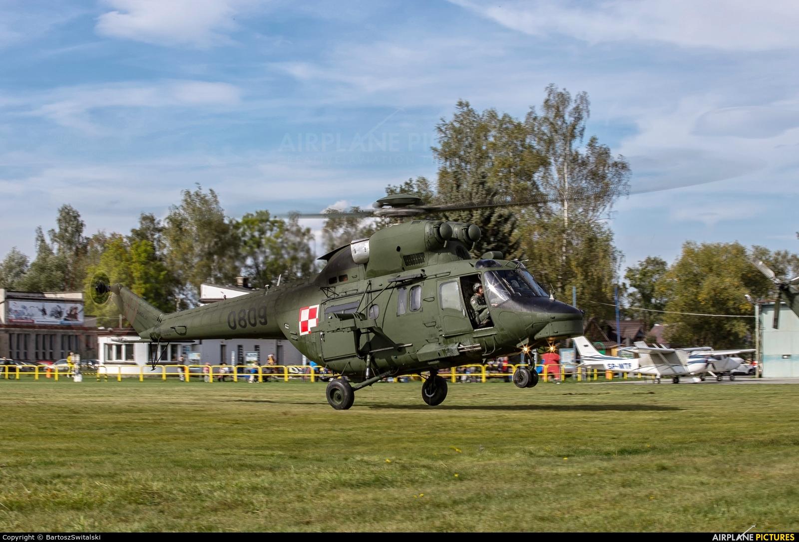 Poland - Army 0809 aircraft at Nowy Targ Airport