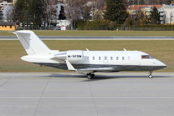 M-SPBM - Private Canadair CL-600 Challenger 604