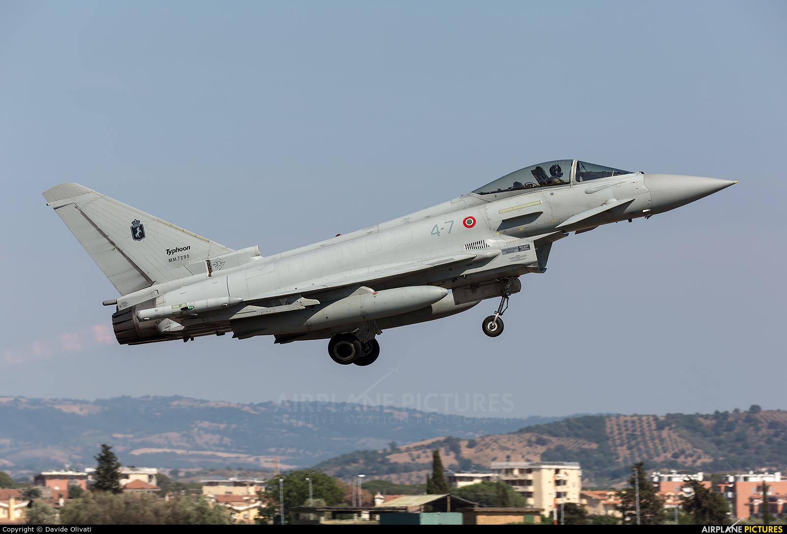 Italy - Air Force MM7290 aircraft at Grosseto - Corrado Baccarini