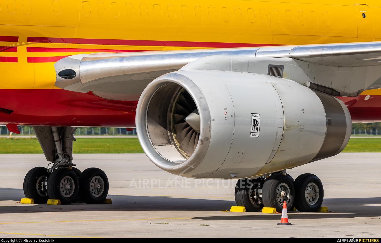 DHL Cargo G-DHKK aircraft at Ostrava Mošnov