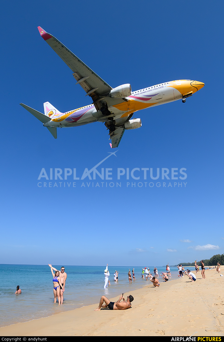 Nok Air HS-DBX aircraft at Phuket