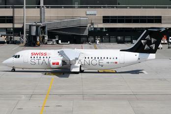 HB-IYV - Swiss British Aerospace BAe 146-300/Avro RJ100