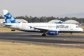 N637JB - JetBlue Airways Airbus A320