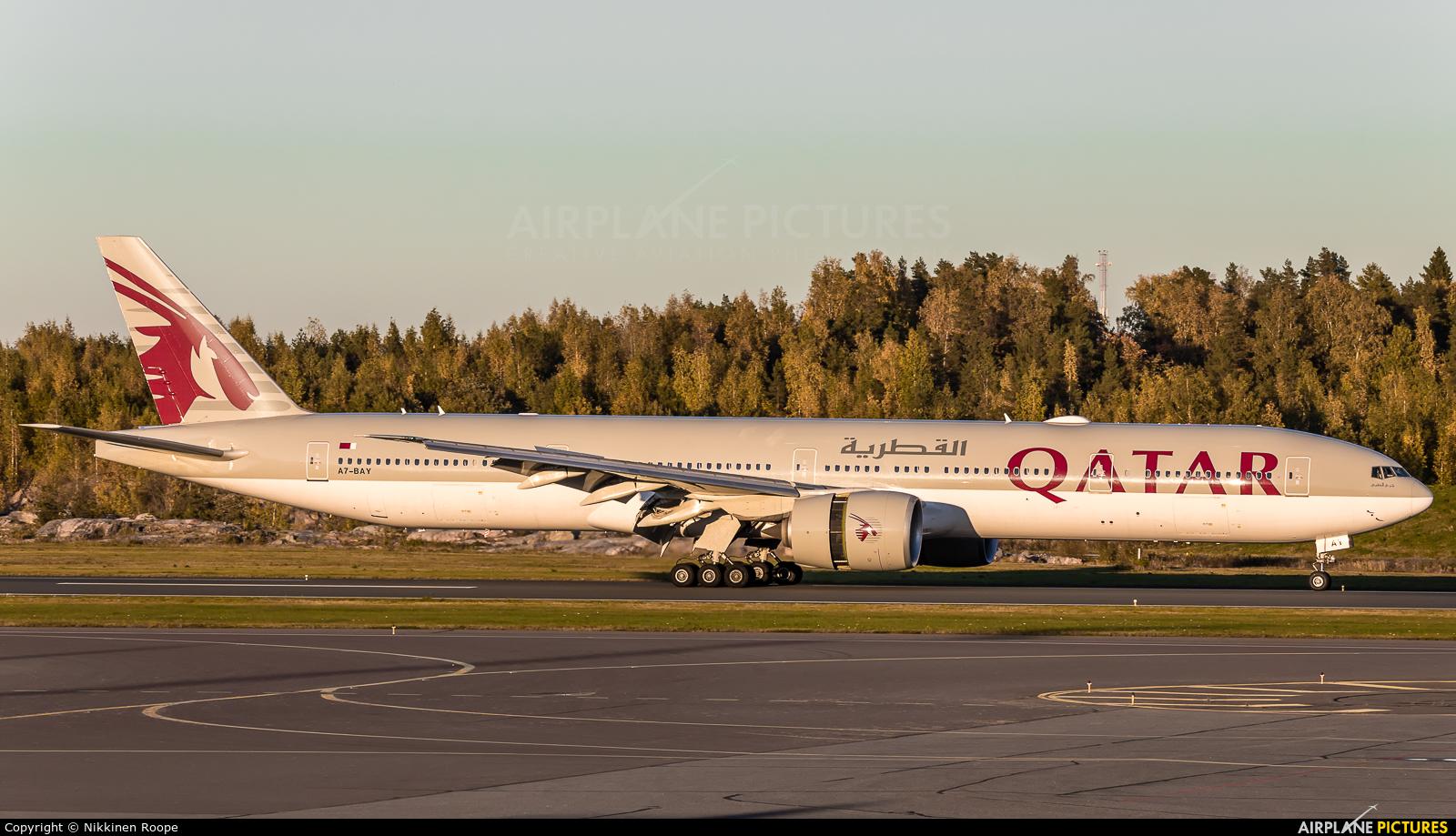 Qatar Airways A7-BAY aircraft at Helsinki - Vantaa