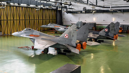 - - Poland - Air Force - Airport Overview - Hangar