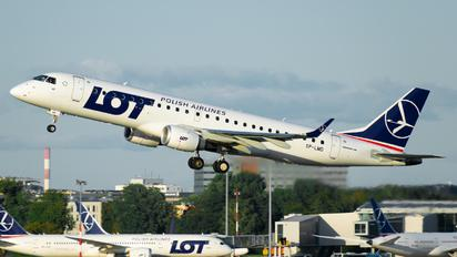 SP-LMD - LOT - Polish Airlines Embraer ERJ-190 (190-100)