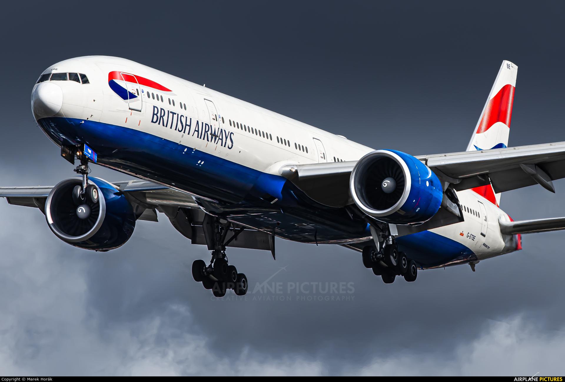 British Airways G-STBE aircraft at London - Heathrow