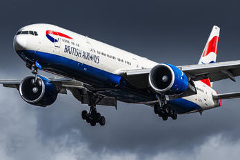G-STBE - British Airways Boeing 777-300ER