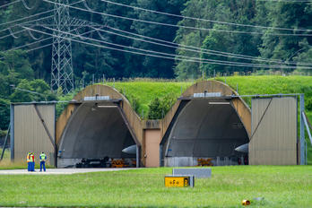 - - Switzerland - Air Force - Airport Overview - Hangar