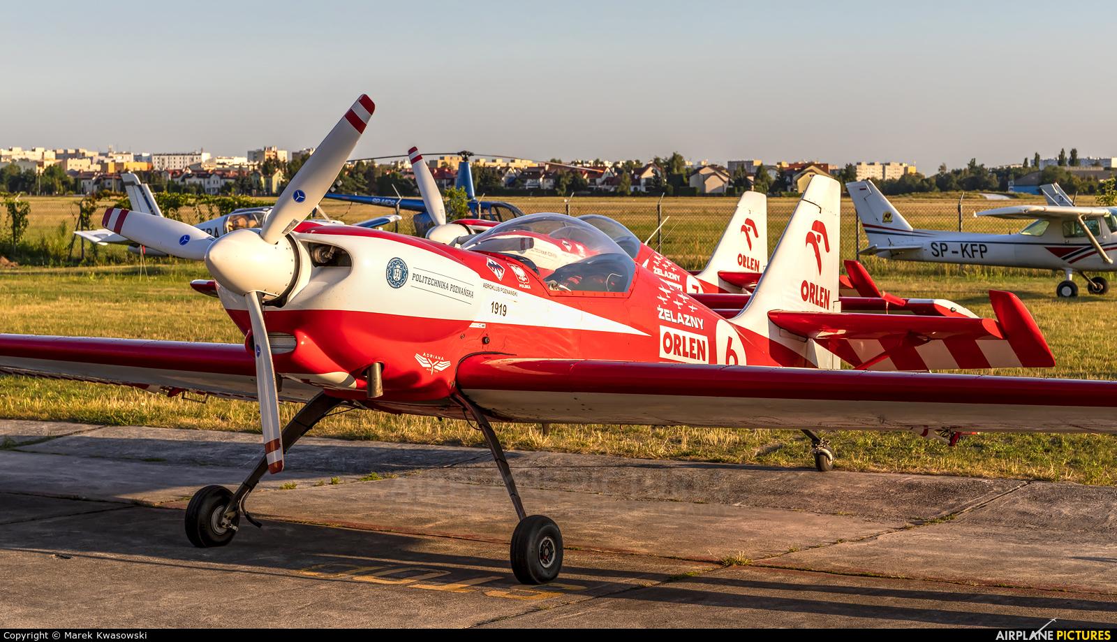 Grupa Akrobacyjna Żelazny - Acrobatic Group SP-AUC aircraft at Warsaw - Babice