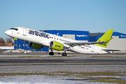 YL-CSC - Air Baltic Bombardier CS300 aircraft