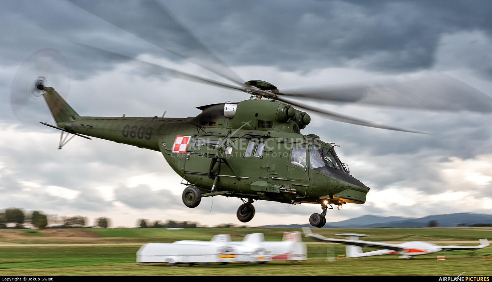 Poland - Air Force 0809 aircraft at Nowy Targ Airport