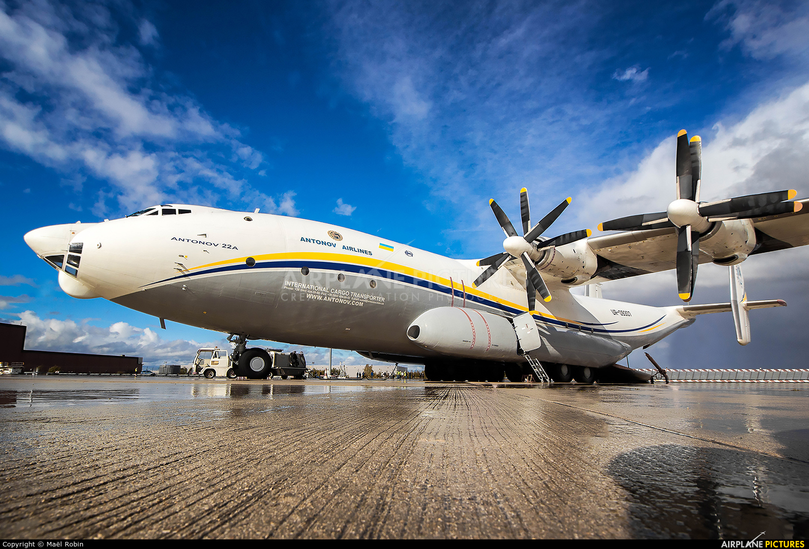 Antonov Airlines /  Design Bureau UR-09307 aircraft at Chalons Vatry Airport