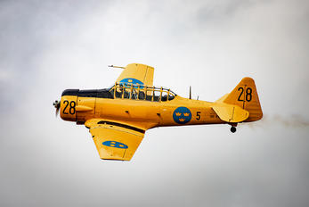 SE-FUB - Swedish Air Force Historic Flight North American AT-6A Texan