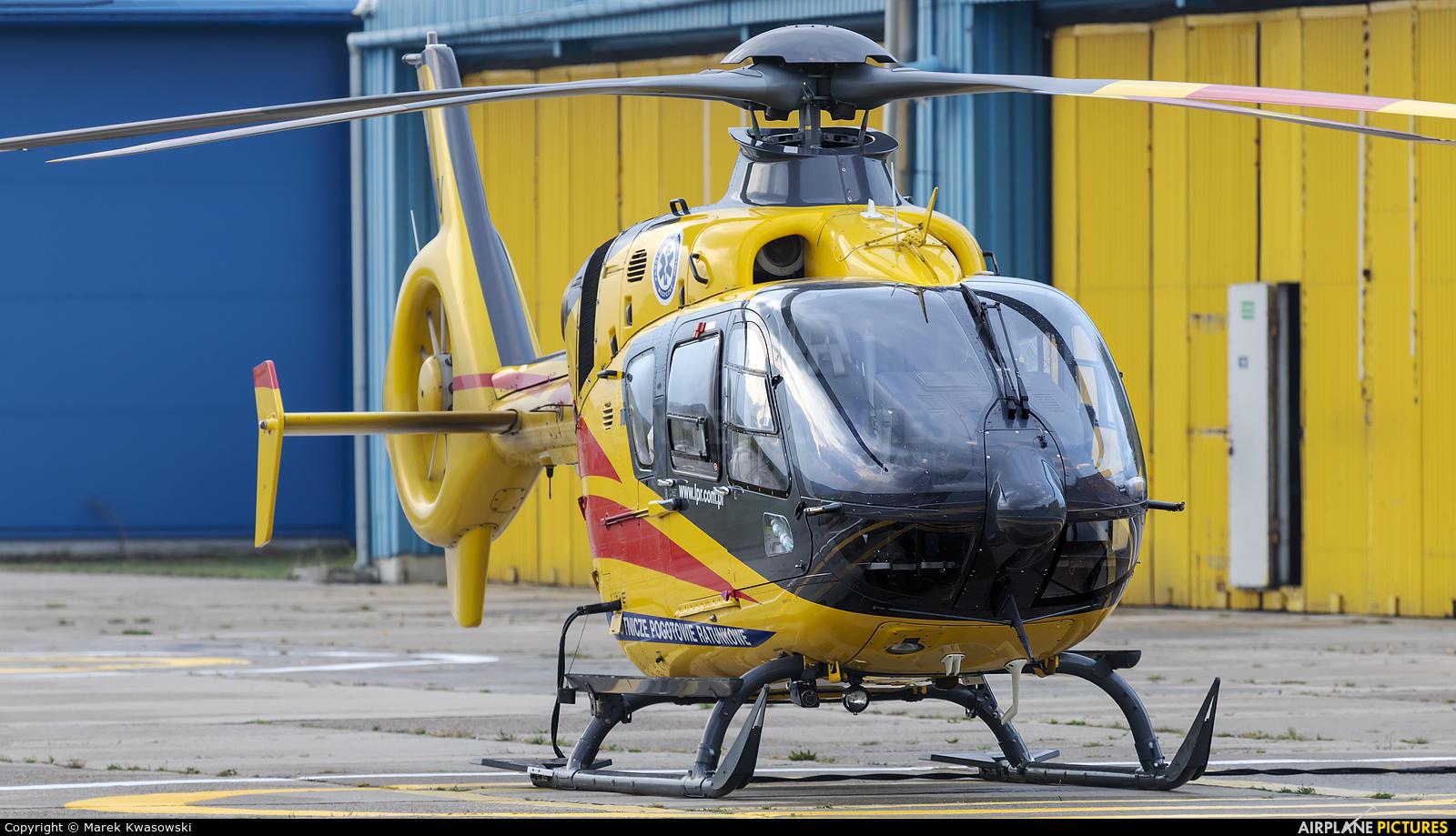 Polish Medical Air Rescue - Lotnicze Pogotowie Ratunkowe SP-HXU aircraft at Warsaw - Babice