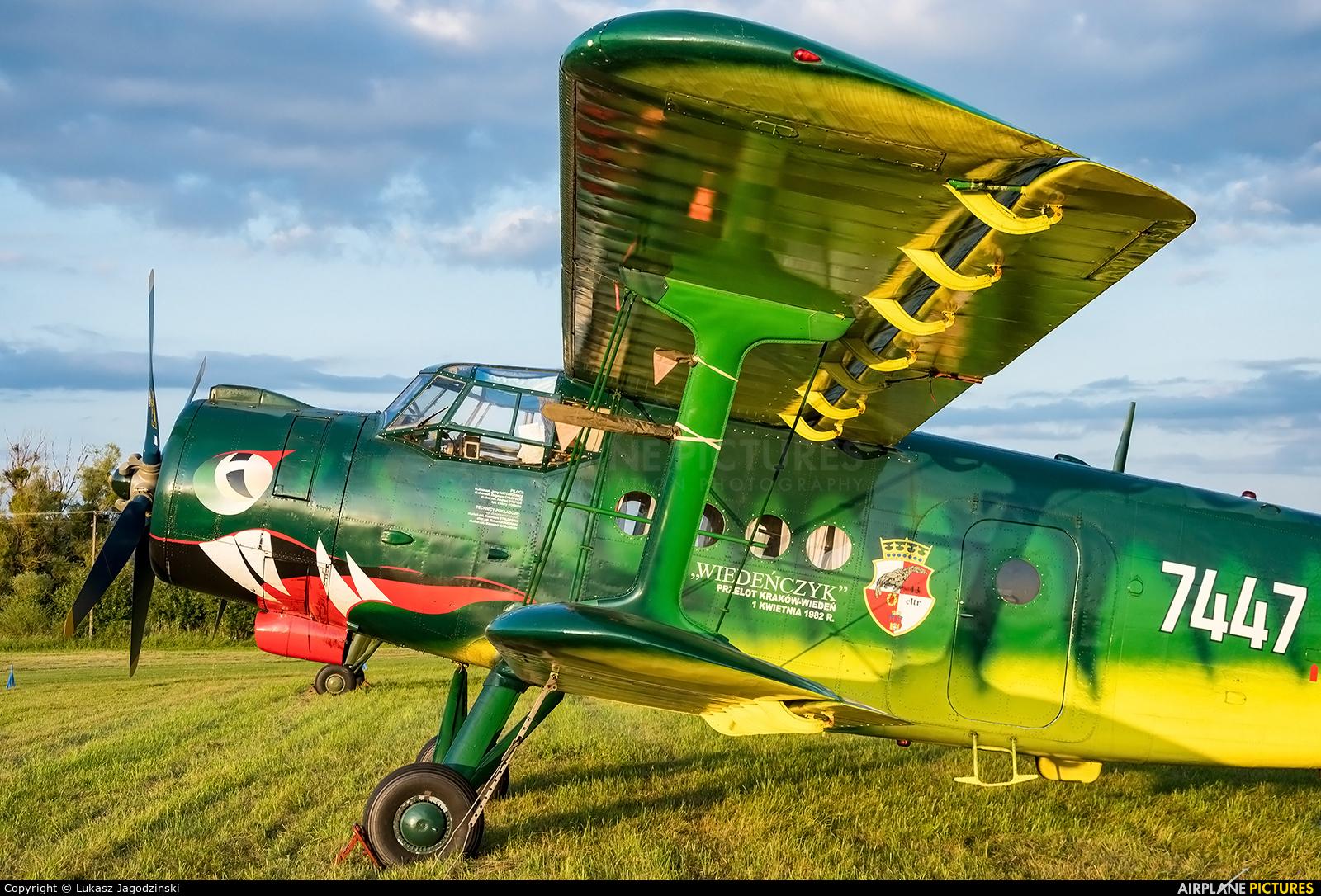 Museum of Polish Aviation SP-MLP aircraft at Kętrzyn - Wilamowo