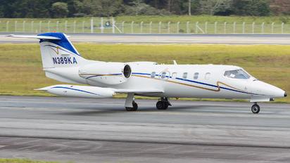 N389KA - Private Bombardier Learjet 35
