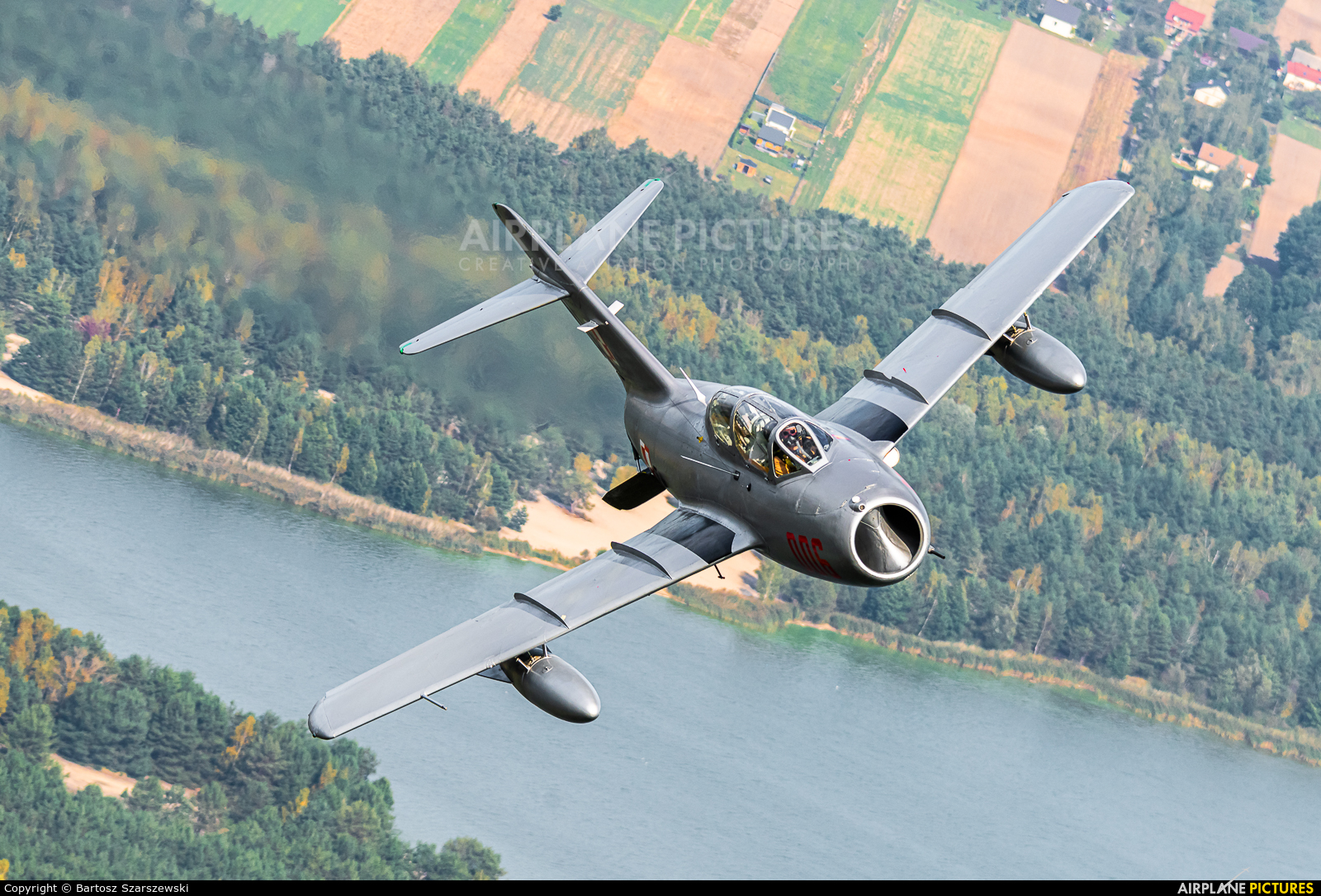 Polish Eagles Foundation SP-YNZ aircraft at Piotrków Trybunalski