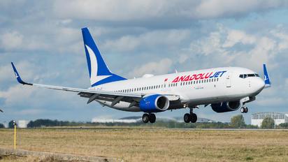 TC-JZS - AnadoluJet Boeing 737-8JP(WL)