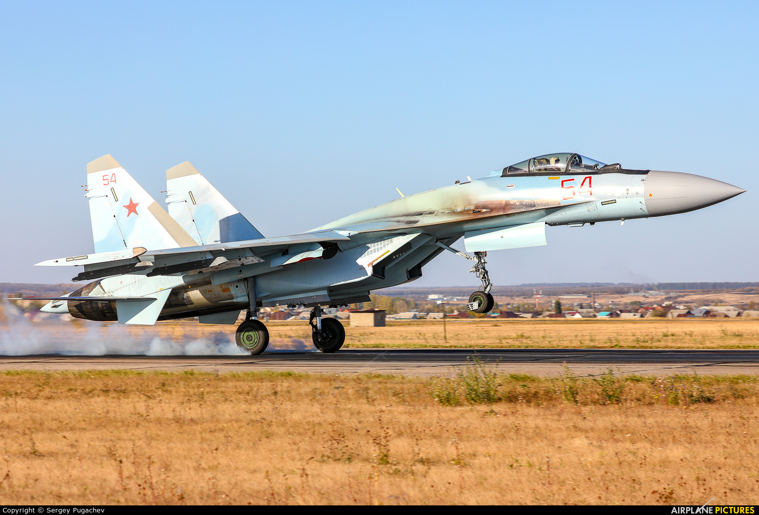Russia - Air Force 54 aircraft at Undisclosed Location