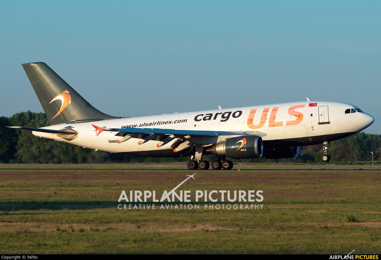 ULS Cargo TC-LER aircraft at Budapest Ferenc Liszt International Airport