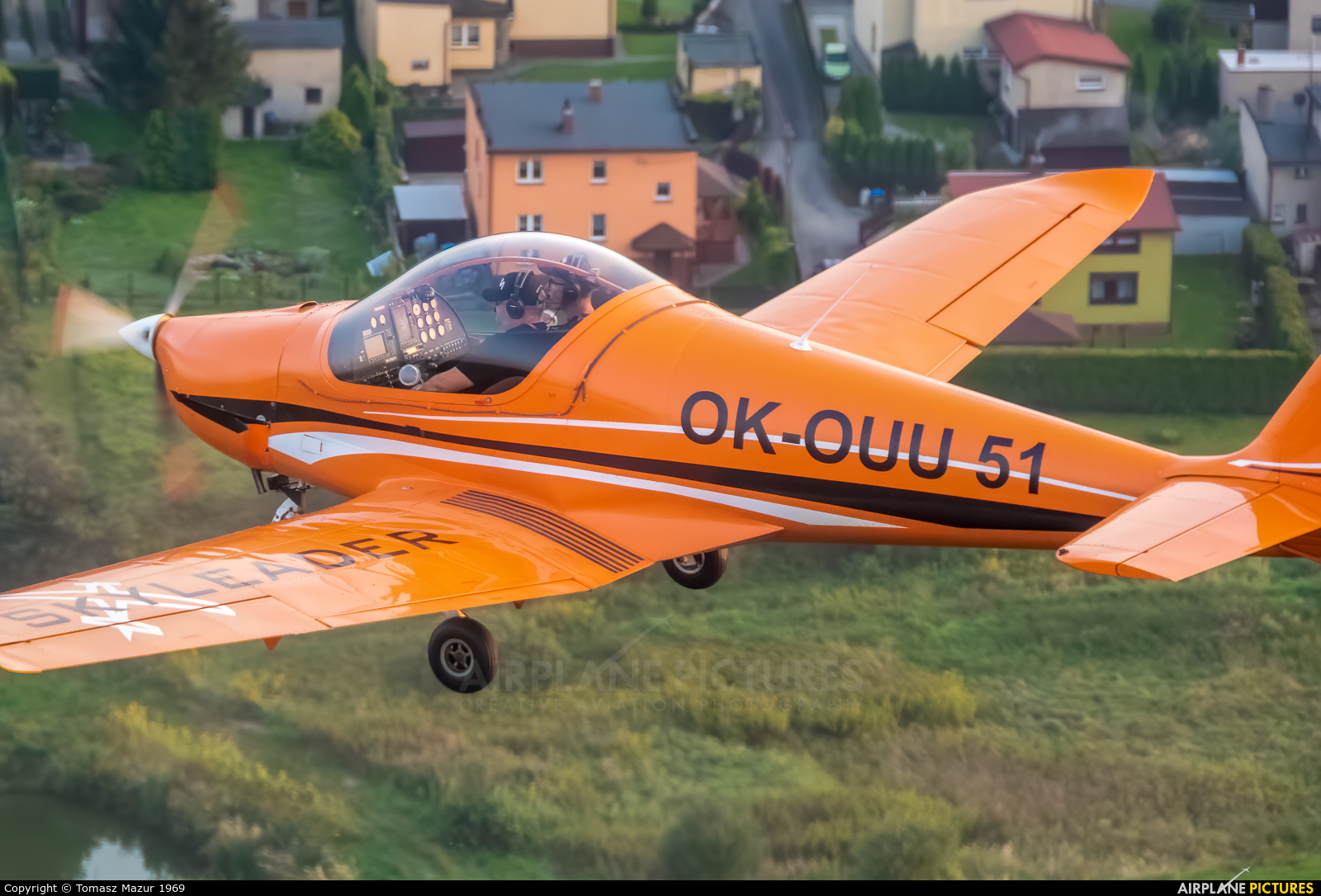 Private OK-OUU51 aircraft at Rybnik - Gotartowice
