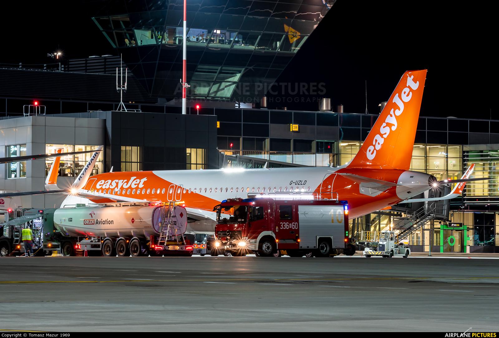 - Airport Overview G-UZLD aircraft at Kraków - John Paul II Intl