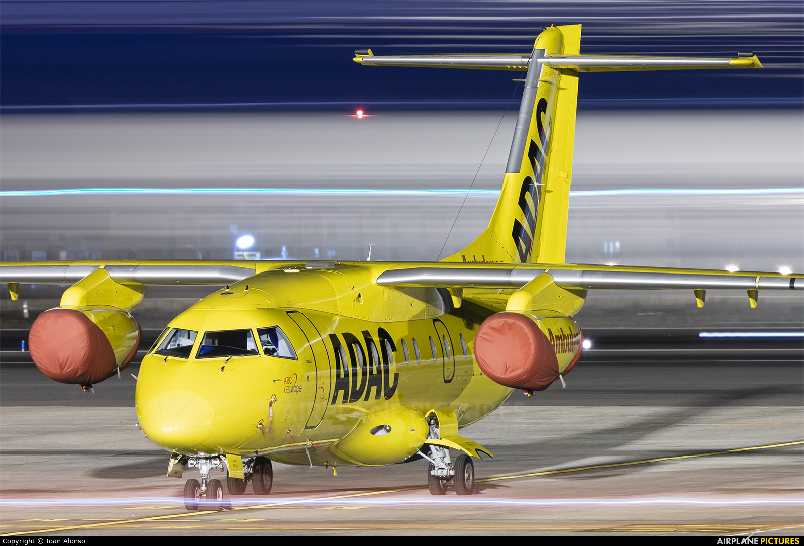 ADAC Luftrettung D-BADA aircraft at Tenerife Sur - Reina Sofia