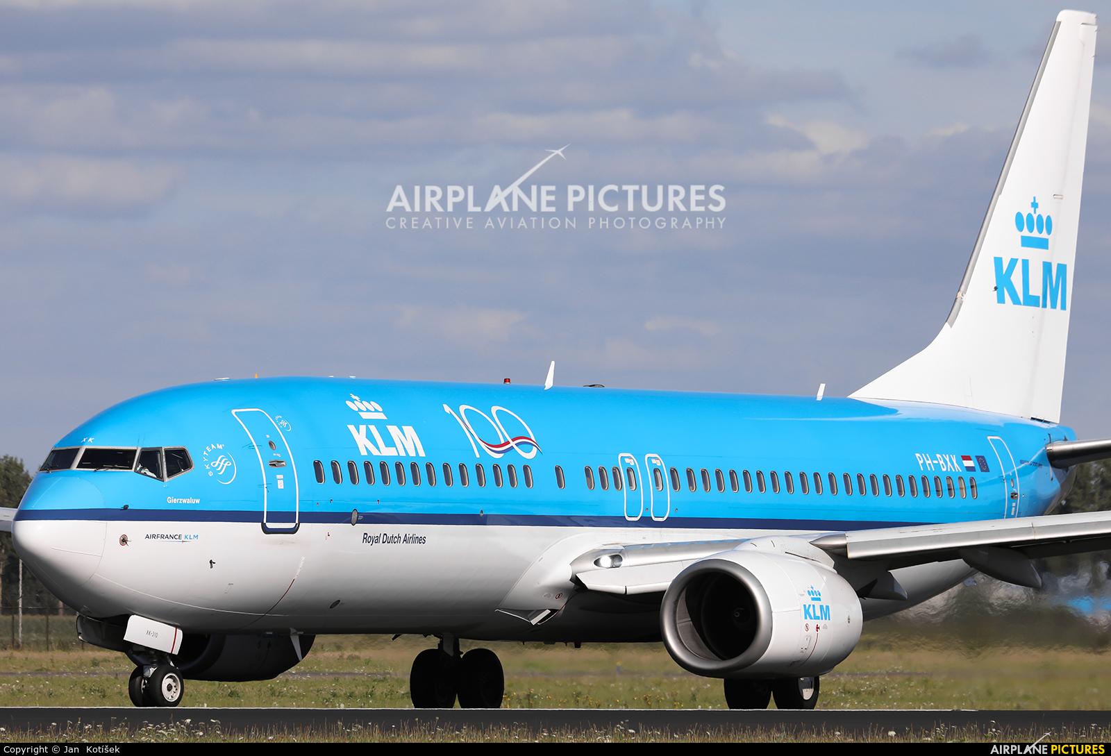 KLM PH-BXX aircraft at Amsterdam - Schiphol