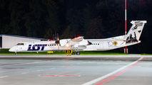 SP-EQK - LOT - Polish Airlines de Havilland Canada DHC-8-400Q / Bombardier Q400 aircraft