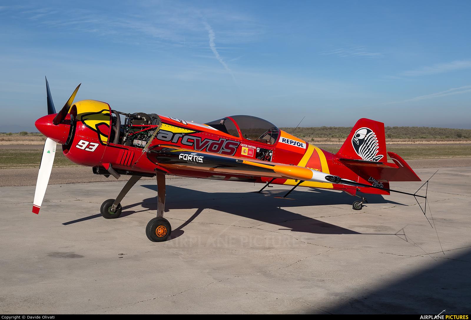 Bravo3/Repsol Team EC-HPD aircraft at Casarrubios del Monte